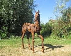 «ANIMAL» parcours de sculptures contemporaines à Briare. Domaine des Roches du 12 mai au 11 septembre.