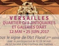 12 mai – 25 juin. Antiquaires et Galeries de Versailles seront «Sous le Signe de l'Art Floral» 2éme édition.