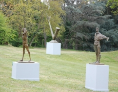 28 avril – 10 septembre. Sculptures grands formats de JIVKO. Domaine des Roches à BRIARE 45.