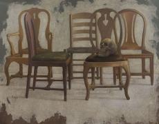 11 mai – 17 juin. «De la réalité du monde …» Peintures de Michel Henricot. Galerie Minsky.