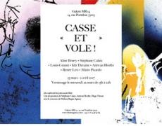 Inauguration de la Galerie MR14 en mars avec une exposition sur le thème «Casse et Vole !»