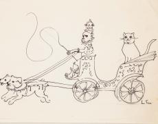 29 août – 30 septembre. Oeuvres choisies de Leonor Fini à la Galerie Minsky