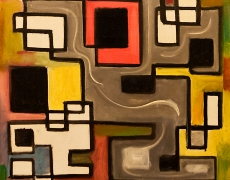 18 janv – 3 mars 2018. Henri-Jean Closon, naissance de l'abstraction. Galerie Minsky