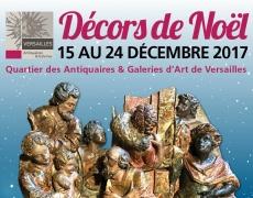 15 – 24 déc. Noël chez les Antiquaires et Galeries de Versailles.