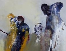 26 avril – 9 juin.  Christophe Miralles et Flo Arnold à la Loo & Lou Gallery.