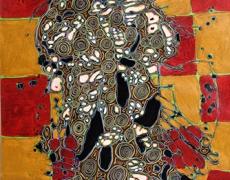 15 fév. – 14 avril. Didier Genty «La Folle qui rit». Peintures. Loo & Lou Gallery.