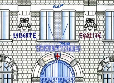 72 Facade H de V St Gratien : J. Villegle copie