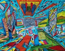 Jusqu'au 6 juillet. Marko GAVRILOVIC «The Flow». Galerie BORIS.
