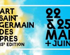 Art Saint-Germain-des-Pres – du 22 au 25 mai et tout le mois de juin 2014