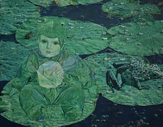 OCT. 8 oct.- 2 nov. Les peintures de NEDA ARIZANOVIC à la Galerie Boris.