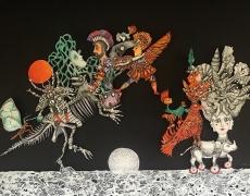 15 mars – 6 avril. Le monde enchanté d'Arnaud LAVAL. Galerie MINSKY