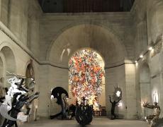 Jusqu'au 1er septembre .Œuvres monumentales de Daniel HOURDÉ. Chapelle de la Salpêtrière.