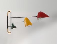 17 oct – 14 déc . Le luminaire Français des années 50′ : Une Révolution . Galerie MEUBLES & LUMIÈRES..
