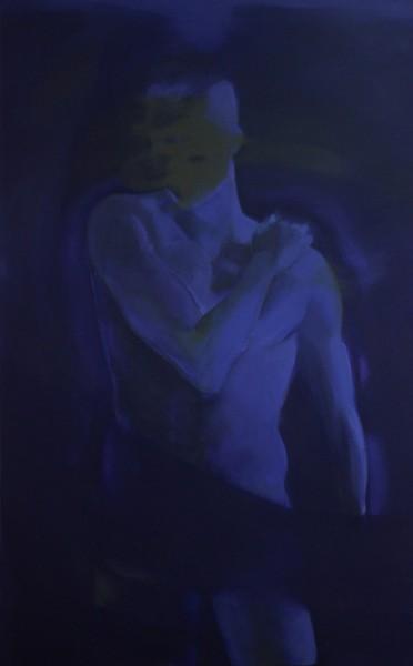Radomir Milovic - Alceste, Le Misanthrope I - 2016 - acrylique sur toile - 160x100 copie
