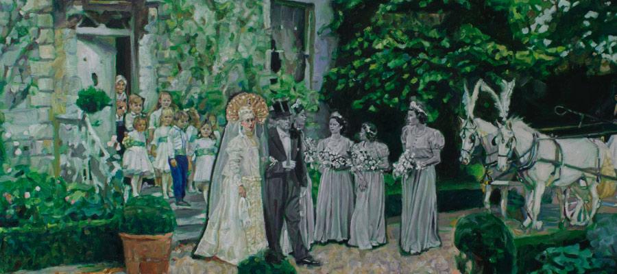 Exposition suspendue jusqu'à nouvel ordre . « TCHÉKHOV, mise en Peinture » . Galerie BORIS.