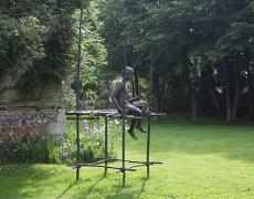 10 juillet – 30 sept. Parcours de sculptures de Marine De Soos dans les jardins du Musée Ernest Cognacq. Île de Ré.