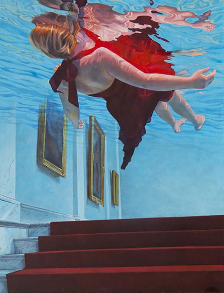 72 Ivana Zivic-Le Musee-2016-huile sur toile-150x115 copie 2