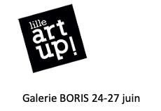 ART UP ! Foire d'Art Contemporain Lille 24-27 juin. Galerie BORIS .